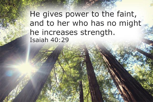Isaiah 40.29