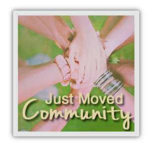 just moved community