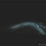 dark road at night