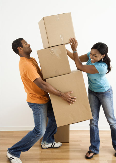 moving couple