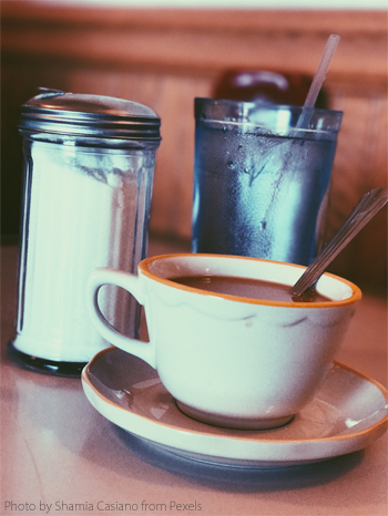 coffee at a diner