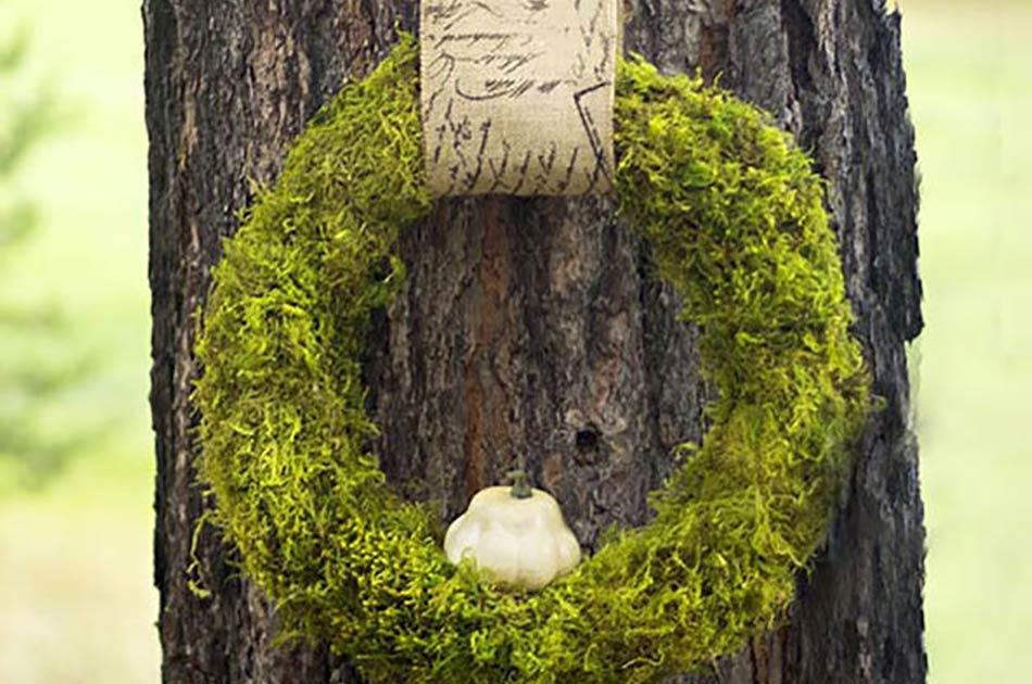 make a fall wreath in one hour